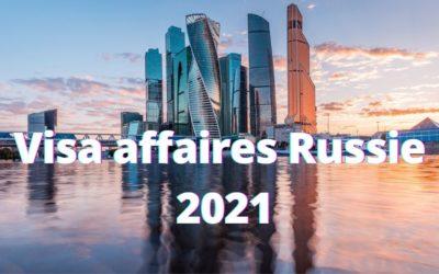 Visa affaires Russie 2021, autorisation d'entrée dérogatoire
