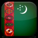turkménistan drapeau